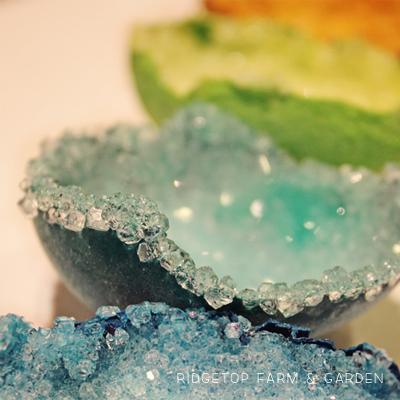 Making Egg Geodes