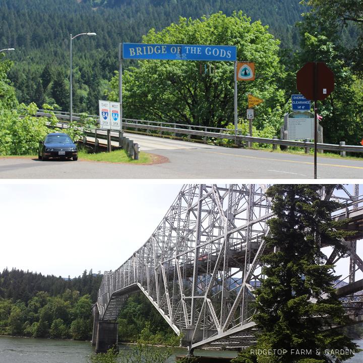 Ridgetop Farm & Garden | Columbia Gorge Day Trip | Bridge of the Gods