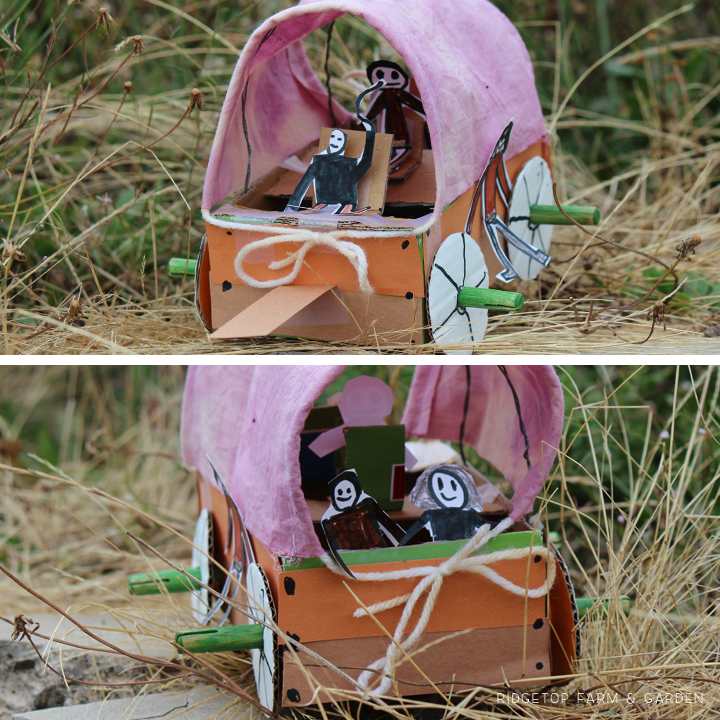 Ridgetop Farm & Garden | Covered Wagon Craft