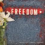 DIY Freedom Canvas