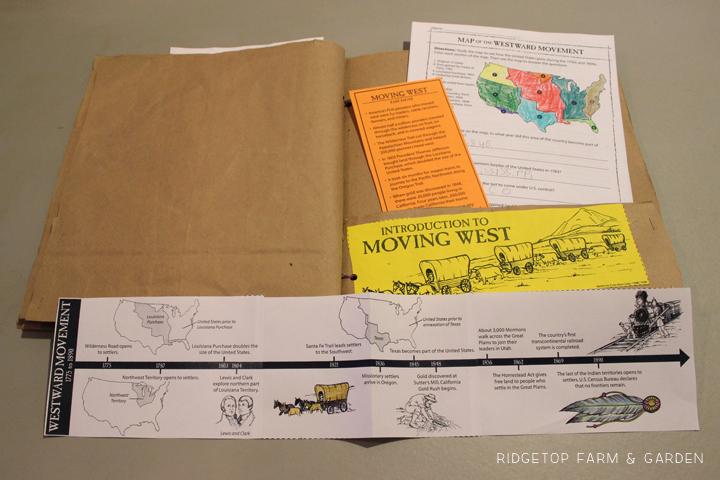 Ridgetop Farm & Garden |History Pockets | Moving West | Introduction