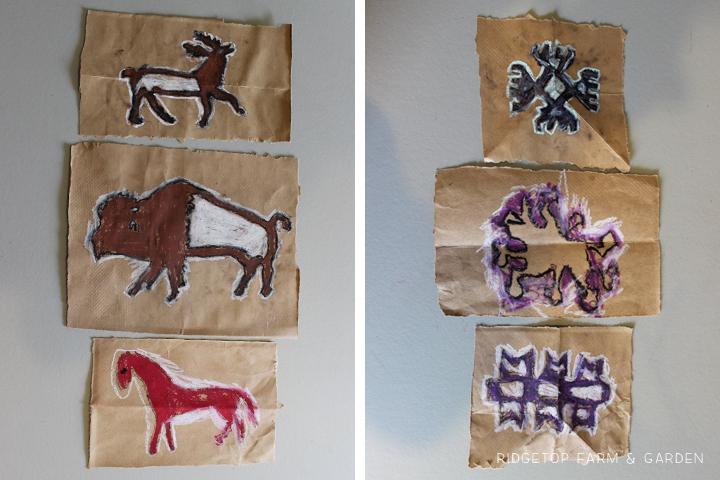 Ridgetop Farm & Garden | Native American Symbol Craft