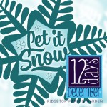 12 Days: Let it Snow Printable