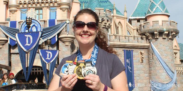 Ridgetop Farm and Garden | Race Recap | Star Wars Half Marathon | Rebel Challenge | Disneyland