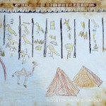 Ancient Egyptian Paper Art