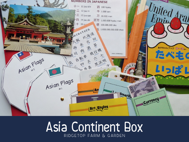 Continent Boxes - Asia - title