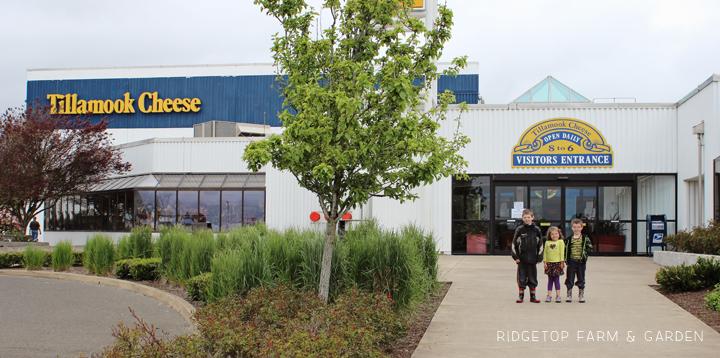 Ridgetop Farm and Garden | 31 Days in Oregon | Tillamook Cheese Factory