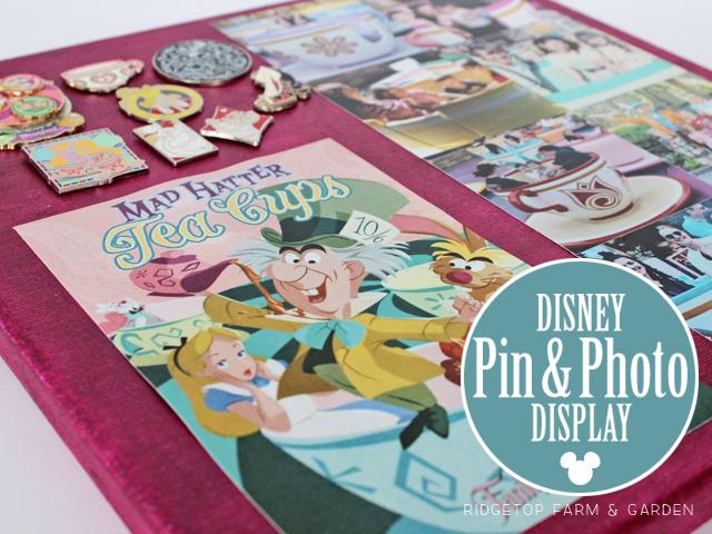 Ridgetop Farm and Garden | Disney | Pin and Photo Display Canvas