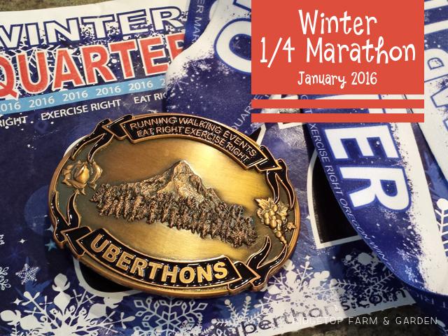 Ridgetop Farm and Garden | Race Recap | Uberthons | Winter Quarter Marathon