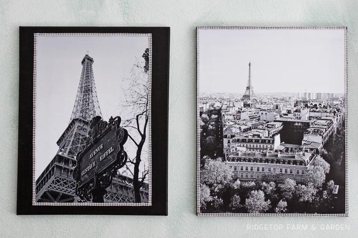 Eiffel Tower Canvas Duo - 4