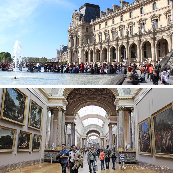Ridgetop Farm and Garden | Travel | Europe | Paris | Louvre