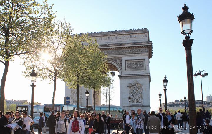 Ridgetop Farm and Garden | Travel | Europe | Paris | Arc de Triomphe