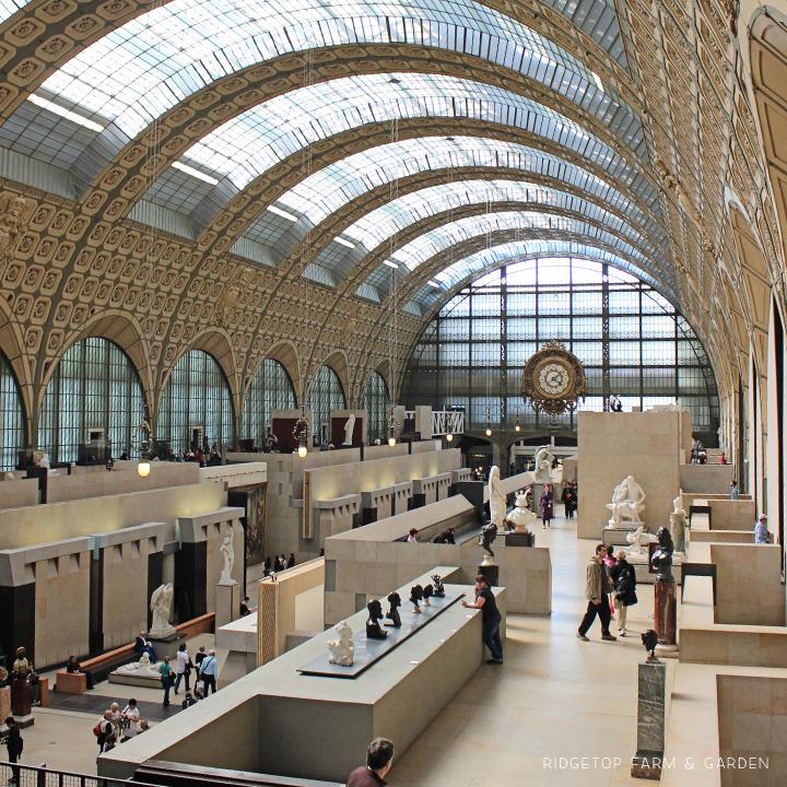 Ridgetop Farm and Garden | Travel | Europe | Paris | Musee d'Orsay
