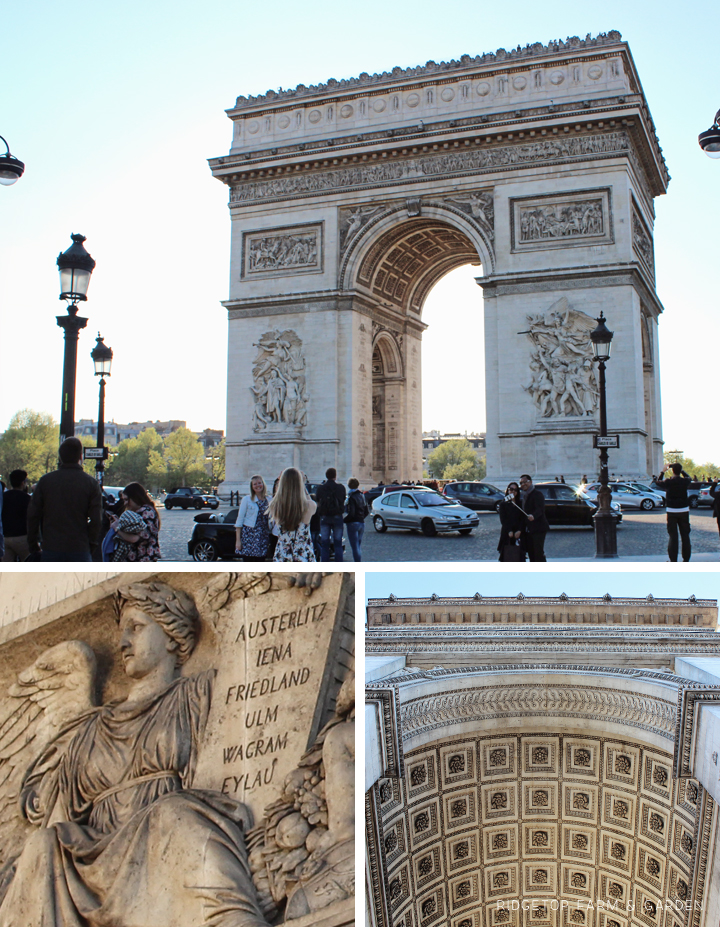 Ridgetop Farm and Garden | Travel | Paris | Arc de Triomphe