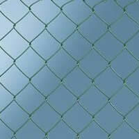 Sentinel Chainlink Galvanised Core And PVC