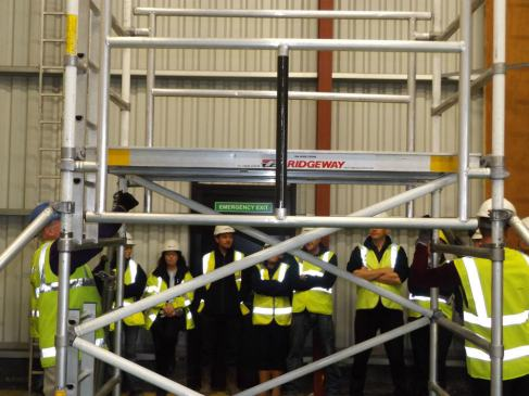 PASMA Alloy Tower Training offered at Ridgeway