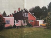 Image of the house years before the installation
