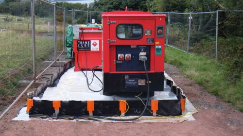 Ridgeway's Innovation brings portable containment bunds to market
