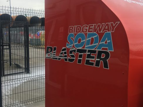 Soda Blasters and Hot Aqua Blasters available to hire