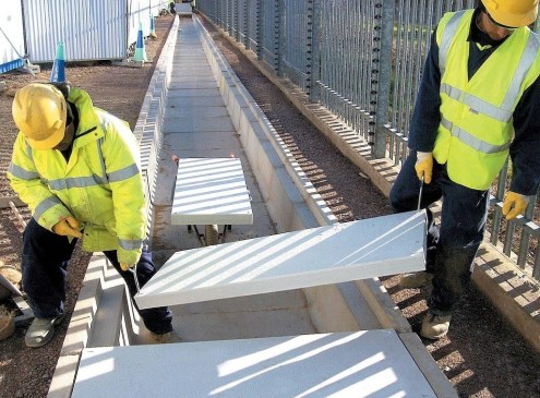 Ridgeway stock Dura GRP Industrial Flooring