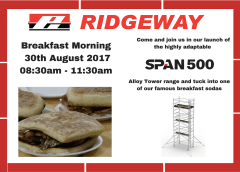 Span 500 Breakfast Morning