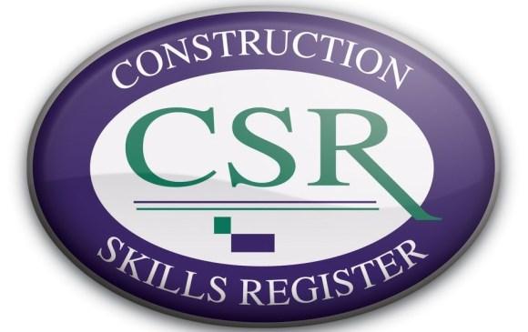 Ridgeway offer accredited Construction Skills Register (CSR) Training