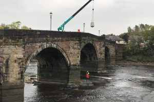 Ridgeway Filter Units successfully installed on bridge piers