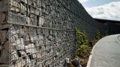 Ridgeway Gabion Wall