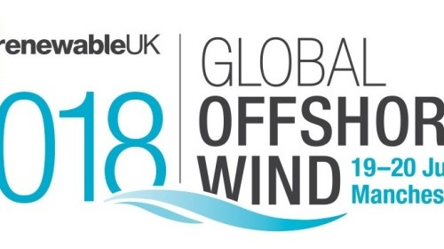Join Ridgeway Marine at Global Offshore Wind 2018