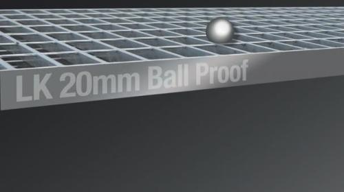 20mm Ball Proof Grating