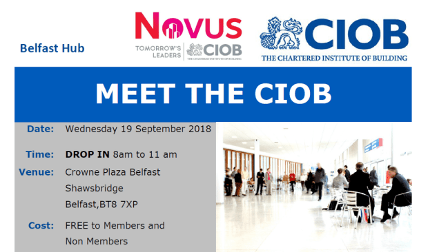 Meet the CIOB Event