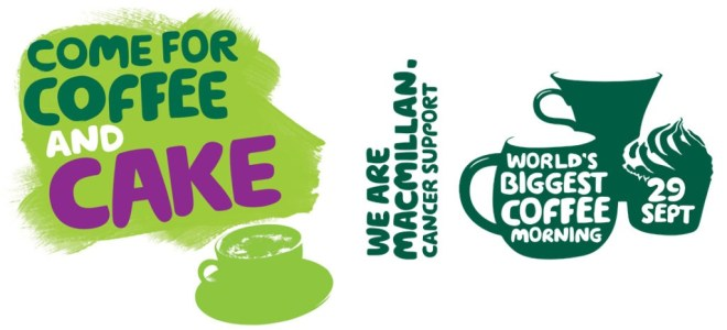 Join our Macmillan Coffee Morning Friday 28th September – Belfast
