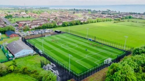 Ridgeway Supply Fencing Systems for Greenlsland FC