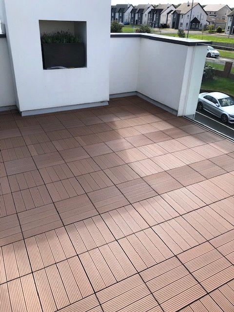Dura Deck Tile Composite Decking