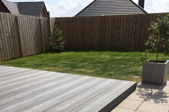 Dura Deck Eco transforms private garden in Dundonald