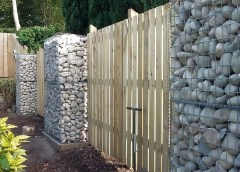 Ridgeway provided bespoke-sized gabion cages