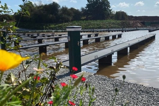 Check out our Dura D2 Grating used at Mancetter Marina