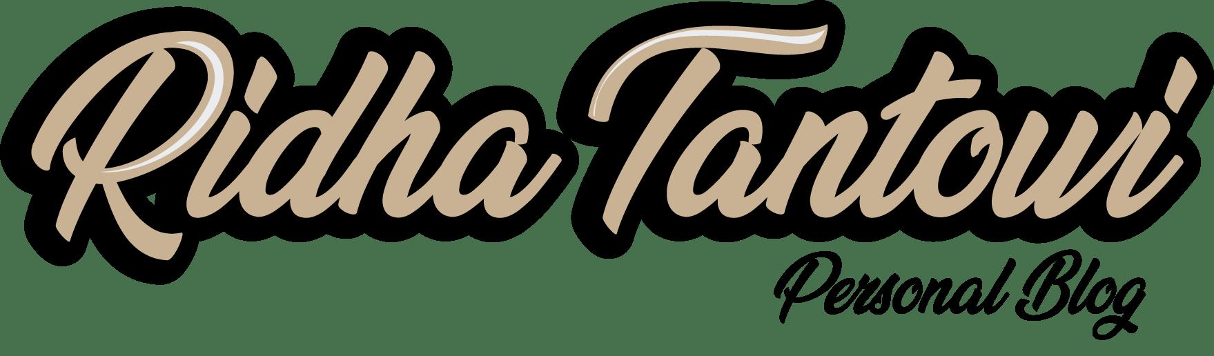Ridha Tantowi's Personal Blog