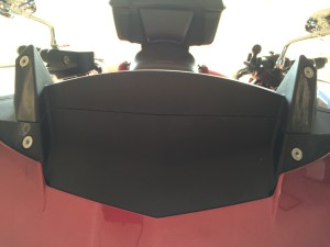 Victory XCT Windshield Mounting Points