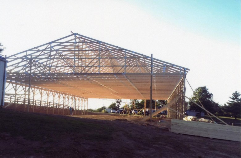 arena under construction frame