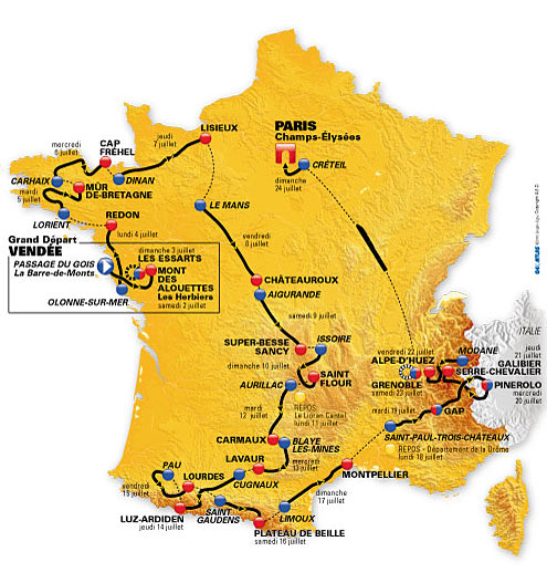 Le Tour is inching closer