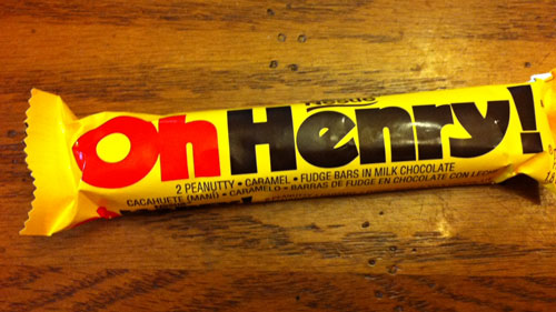 "The mystery of the ""Oh Henry!"" bar is over"