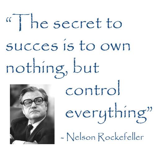 Nelson Rockefeller, The secret to success,