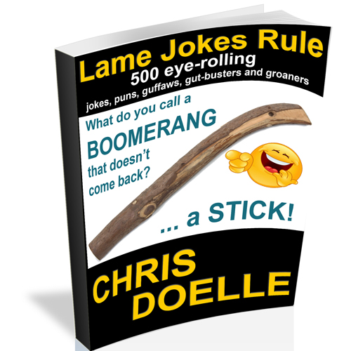 Lame Jokes Rule - Volume 1: 500 eye-rolling jokes, puns, guffaws, gut-busters and groaners