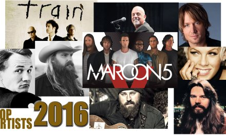 Chris Doelle's 2016 Top Artists
