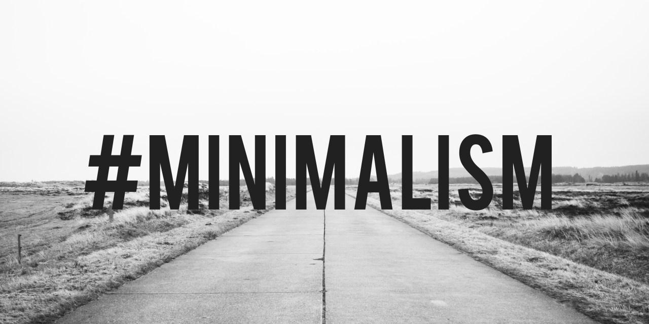 #Minimalism 01/12/17