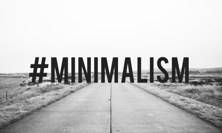 #Minimalism 01/18/17