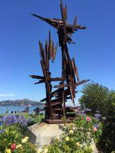 Interesting sculpture in Sausalito