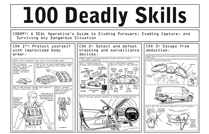 Book Review: 100 Deadly Skills: The SEAL Operative's Guide to Eluding Pursuers, Evading Capture, and Surviving Any Dangerous Situation