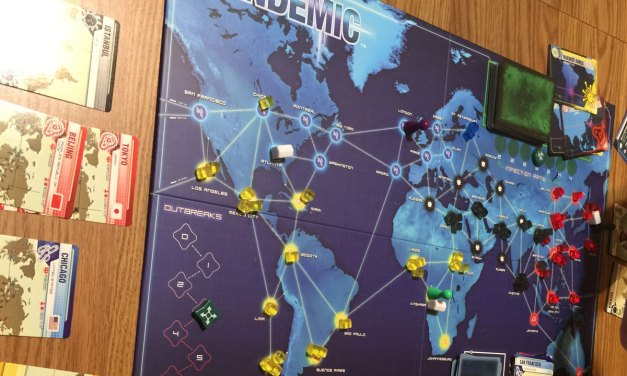 Pandemic, a Frustratingly Fun Game